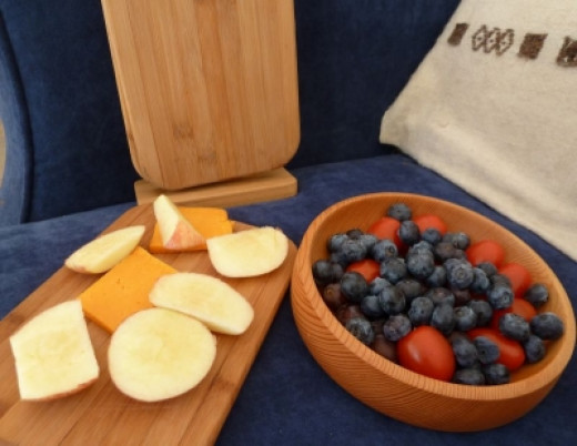 Sustainable Bamboo Platters