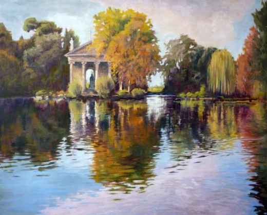 Reflections of the Past by Sharon Weaver