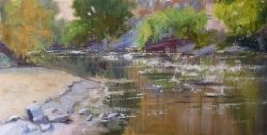 Along the Kern River by Sharon Weaver