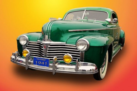 A vintage classic 1941 Pontiac
