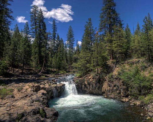 Lower Falls on The McCloud River