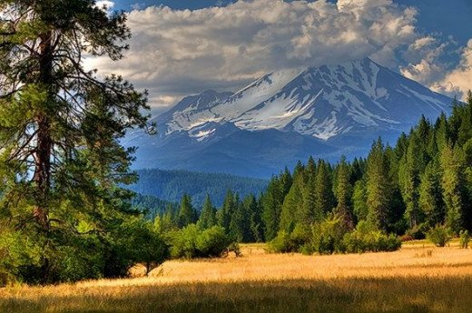 Mount Shasta From Near McCloud