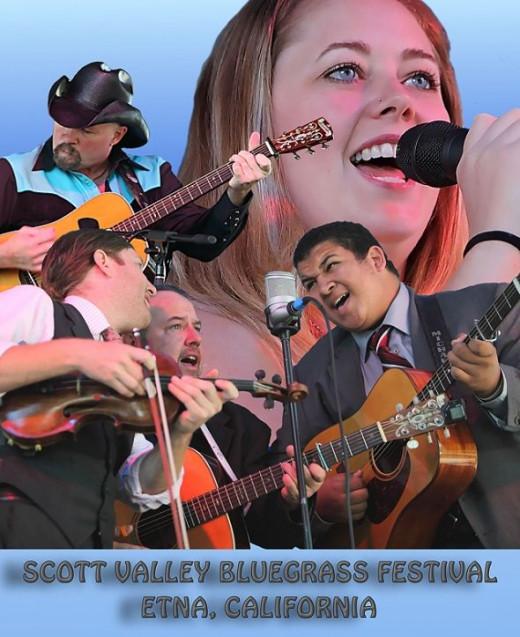Scott Valley Bluegrass Festival Bands