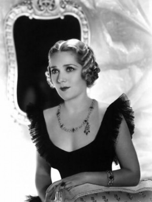 Portrait of Mary Pickford, early 1930s.