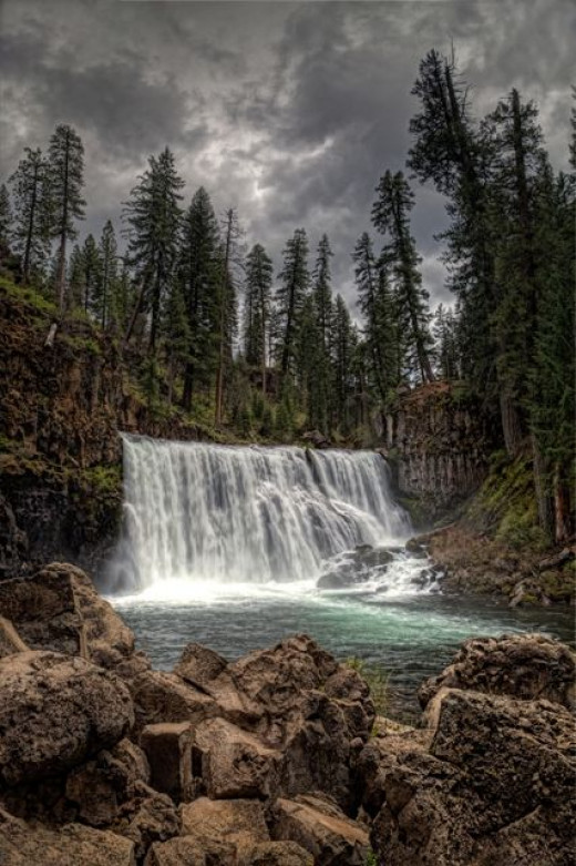 Middle Falls on The McCloud River