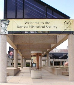 Kansas Historical Society: Getting There Is NOT Half The Fun