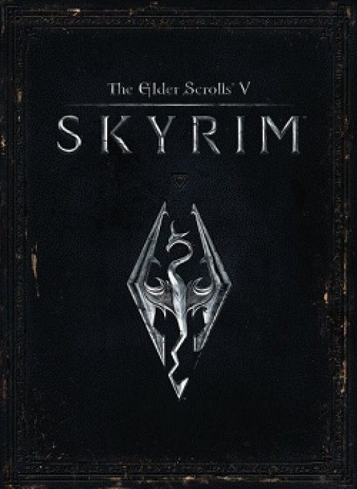 The Elder Scrolls V Skyrim Box Cover