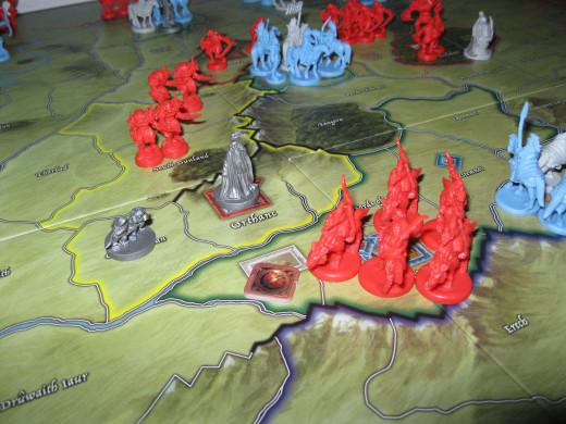 Helm's Deep Under Siege