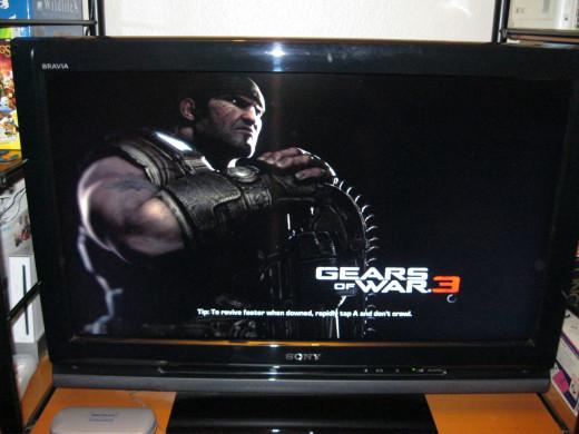 Marcus Fenix from Gears of War 3