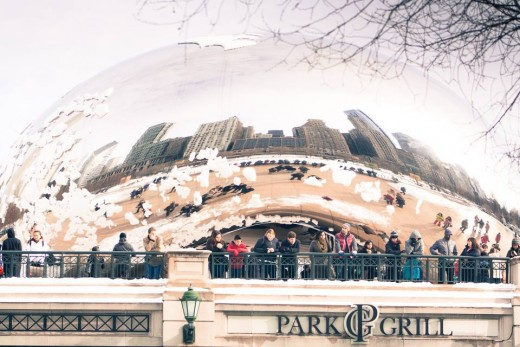 The Bean was more fascinating than I expected. It's like a fun house mirror.