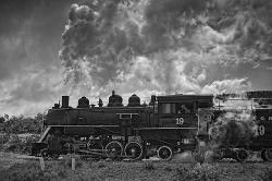 #333B - STEAM TRAIN TA TD BW (1:1.5).