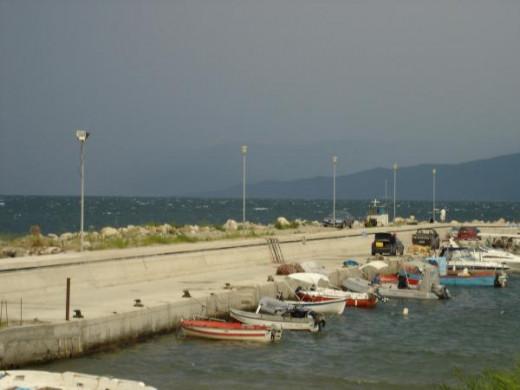 Asprovalta's marina