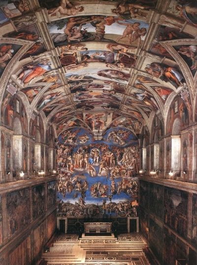 "Michaelangelo ""Sistine Chapel"" - Photo Credit: Web Gallery of Art"