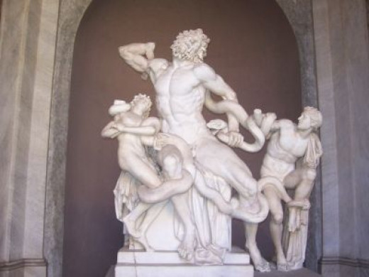 Laocoon and his Sons - Photo Credit: mypotlpeople