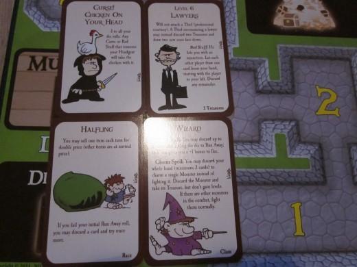 Munchkin Deluxe monster cards
