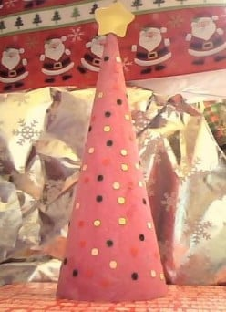 Kids Christmas Craft: Mini Tree