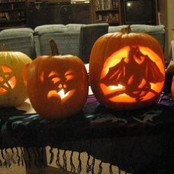 Pumpkin Art: Carved & Painted Pumpkins