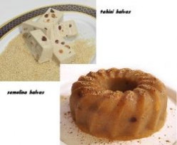 I love Greek Halva, a healthy and delicious lenten dessert