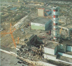 Chernobyl - I was nowhere near it...I swear!