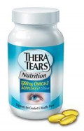 Thera Tears Nutrition, 1200mg Omega-3 Supplement Capsules