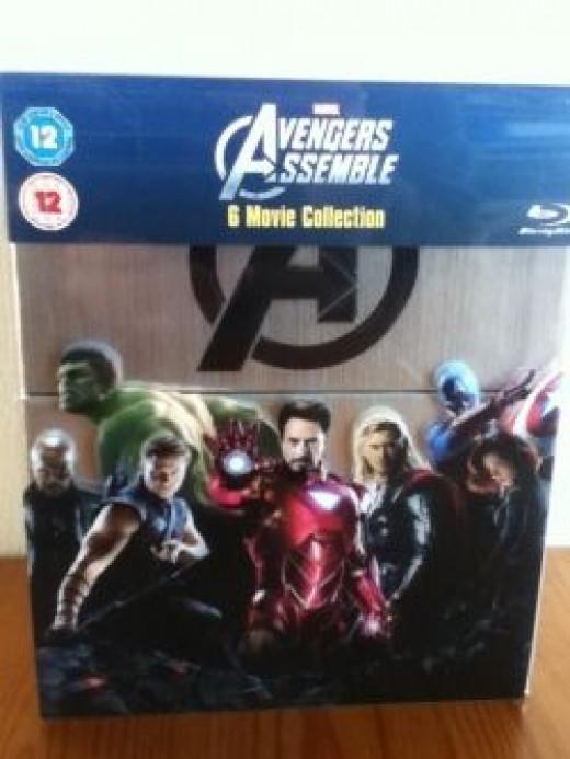 Marvel's Avengers box set front cover