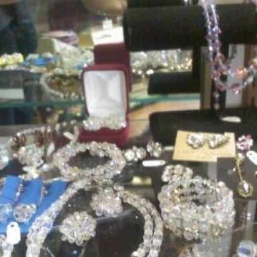 Vintage Jewelry sparklers - great for the bride and bridal party or anyone who loves vintage jewelry