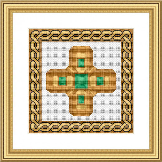 Picture Credit  'Cross' - designed by the author, faeriesong for celtic-cross-stitch.com