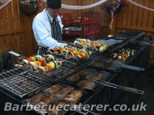 BBQ wedding catering