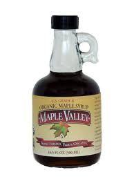 organic grade B maple syrup