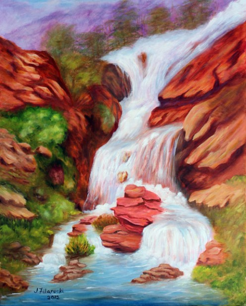 Water-Soluble Oils Painting