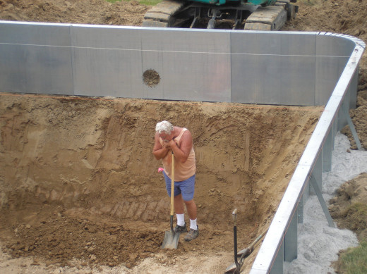 How We Built Our Swimming Pool Hubpages