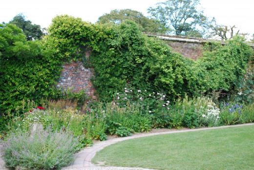 The Sundial Garden.