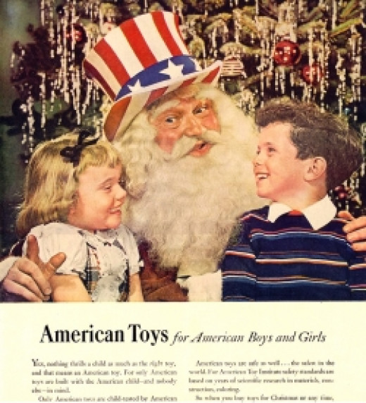 1948 Santa Propaganda