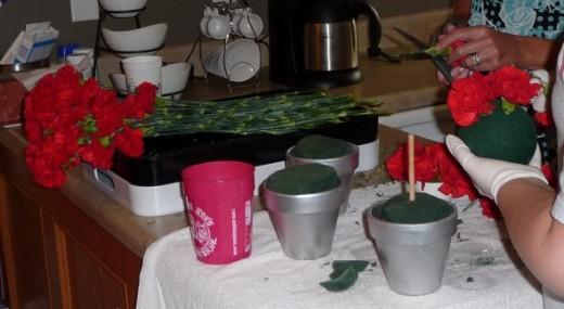 Creating Carnation Wedding Decorations