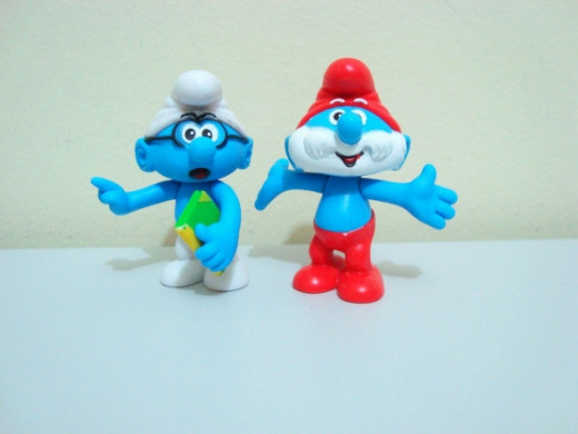 Are you a Brainy Smurf or a Papa Smurf?