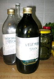 Home Made Vegetable Stock