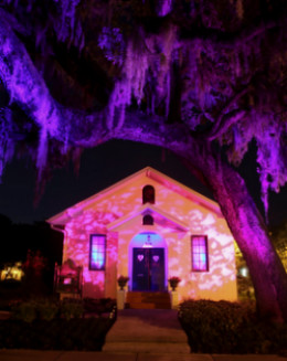 Spooky Halloween lighting
