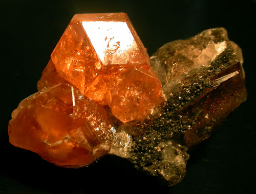Grossular Garnet from Quebec