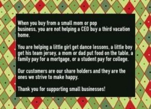 Please support little, local gift shops like mine - Hubbard Ohio Gift Shop