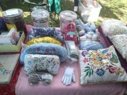 photo of some of my handmade, naturally scented items