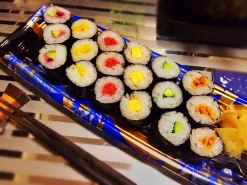 Hosomaki Rolled Sushi