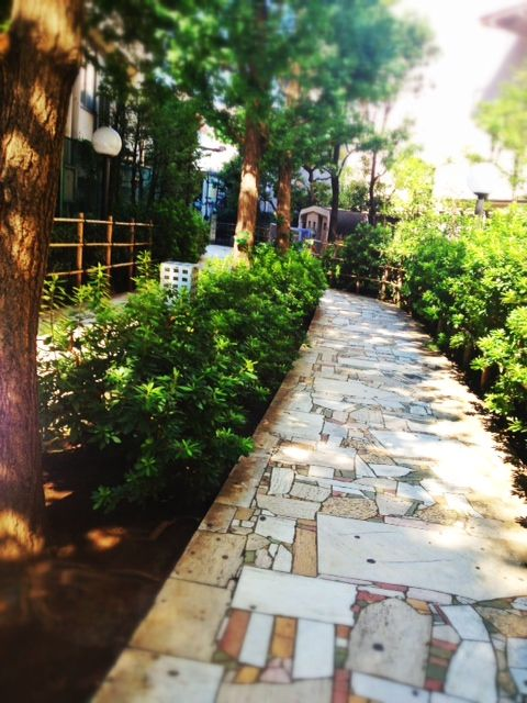 a path in tokyo