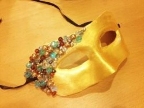 Bejeweled Masquerade Mask