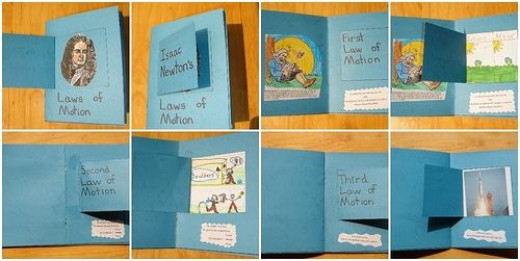 my daughter's laws of motion minibook