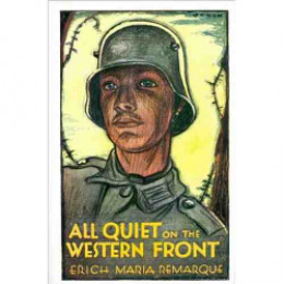 a review of the novel all quiet on the western front Read common sense media's all quiet on the western front review, age rating   class of young men to enlist, using every military recruitment tactic in the book.