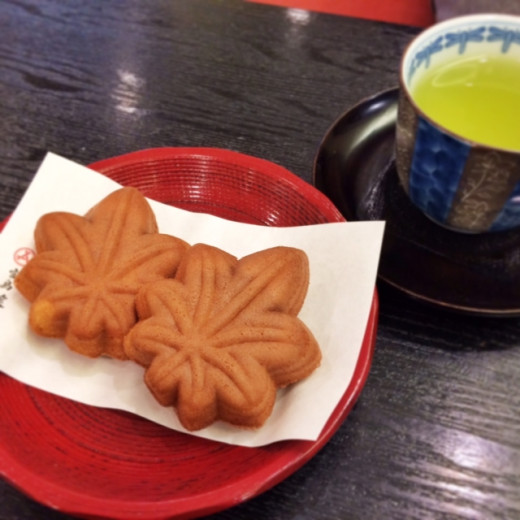 Hiroshima's most popular souvenir is a small maple-leaf shaped cake with a history of more than 100 years.