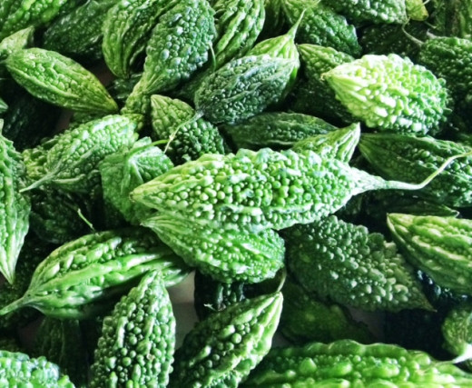 Bitter melon is healthy and great as a stir-fry.