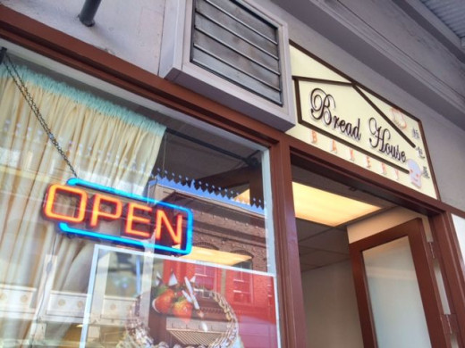 Chinese bakery selling Hong Kong-style baked goods.