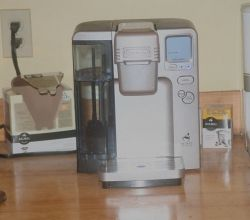 My Cuisinart Keurig Coffee Machine