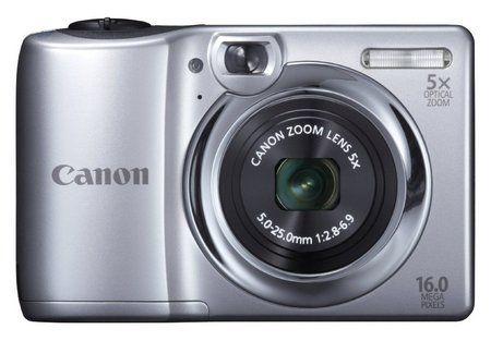 Canon compact digital camera 5x zoom, 16 megapixels